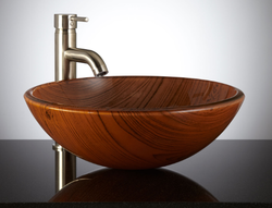 Wood Vessel Sink  Canada