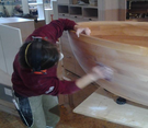 custom wooden bathtubs